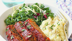 VEGAN LENTIL LOAF #Dinner #Easyrecipe