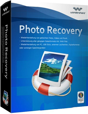 Wondershare Data Recovery 5.0.6.1 poster box cover