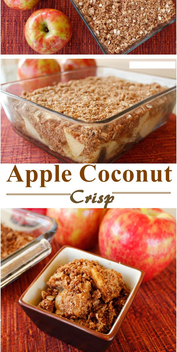 Apple Coconut Crisp
