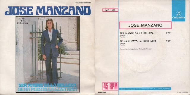 JOSÉ MANZANO EN SU SEGUNDO DISCO CHICO