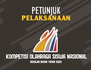 JUKLAK KOSN (Kompetisi Olahraga Siswa Nasional) SD 2020