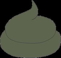 Grünlicher Kot