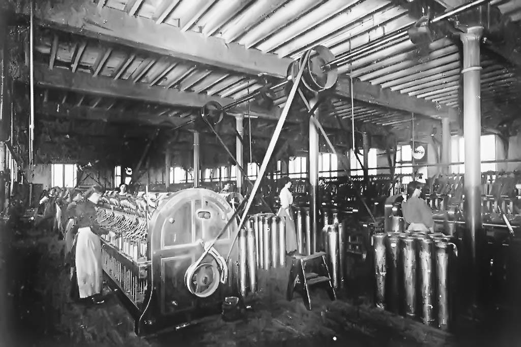 Preparing Room, Cleator Flax Mill, C1900