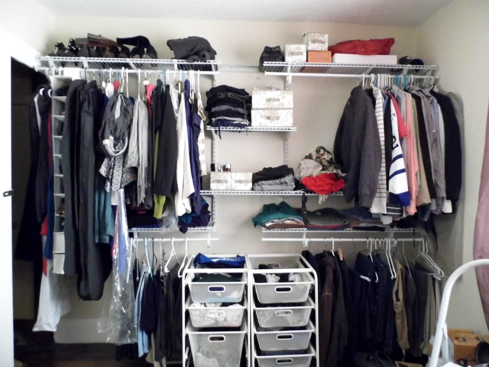 Ikea Hanging Closet Organizer S