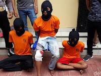 Biadab !!! 3 Pembunuh Sadis Tega Memperkosa Korban Walau Sudah Tewas di Bacok Tangan dan Leher