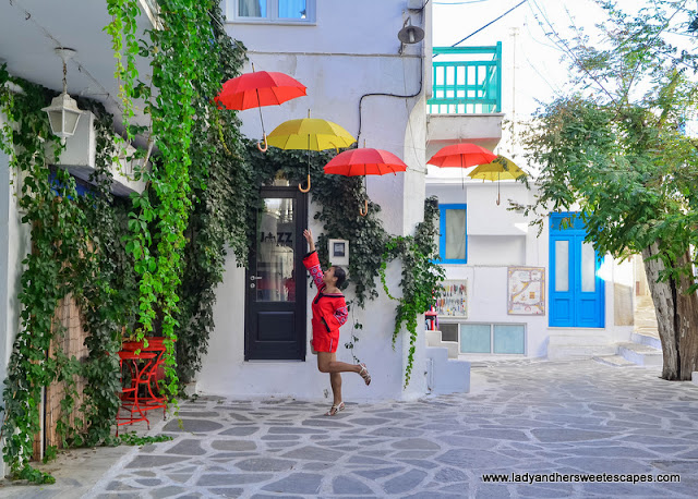 charming spots in Naxos Greece