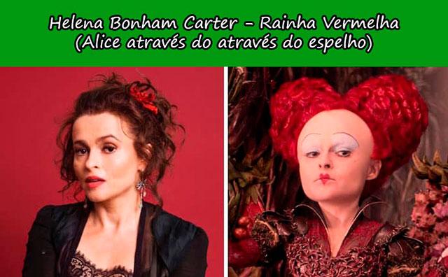 Helena Bonham Carter - Rainha Vermelha (Alice através do at