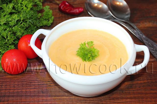 рецепт кабачкового крем-супа