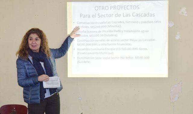 María Elena Ojeda, alcaldesa de Puerto Octay