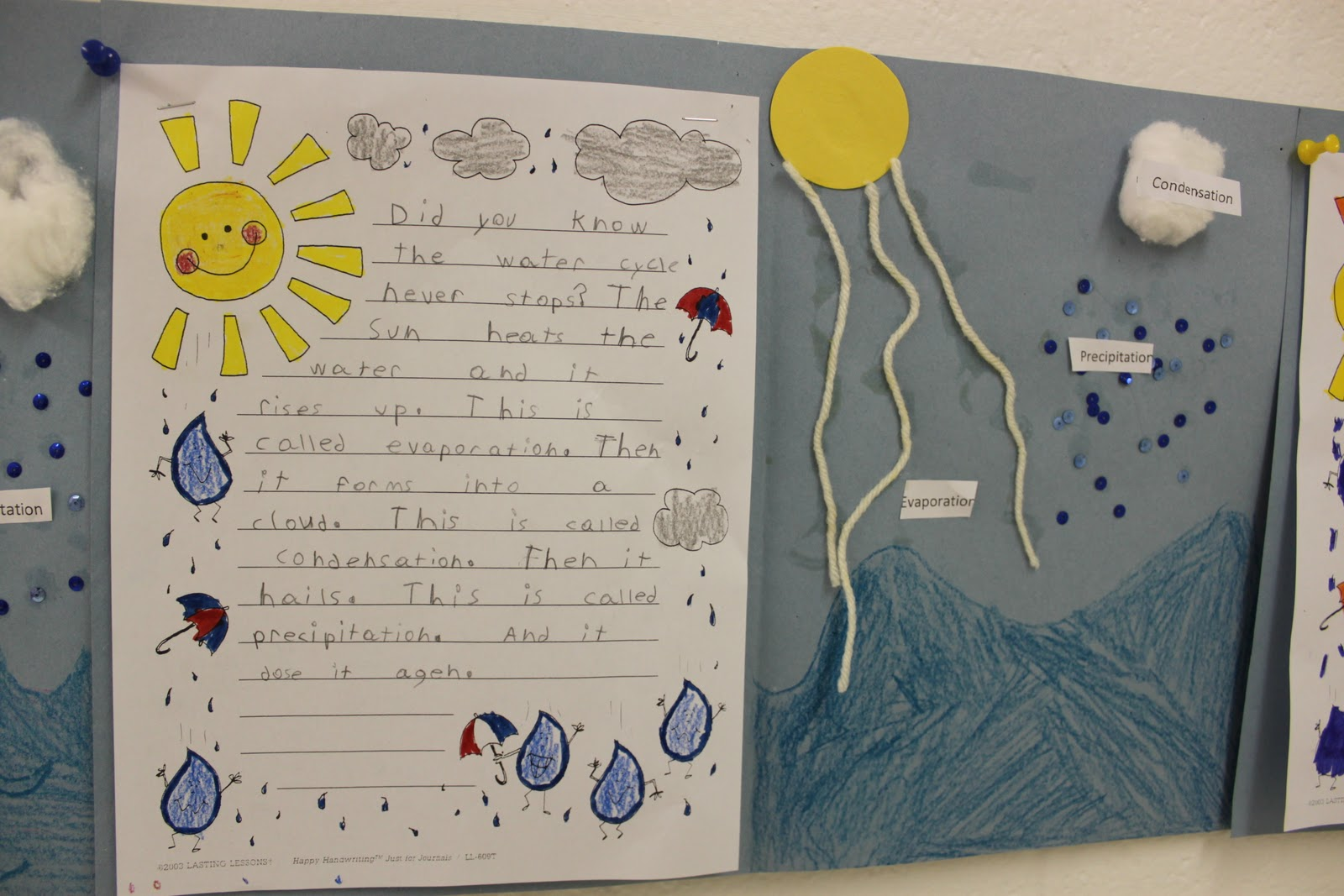 water cycle paper - photo #15
