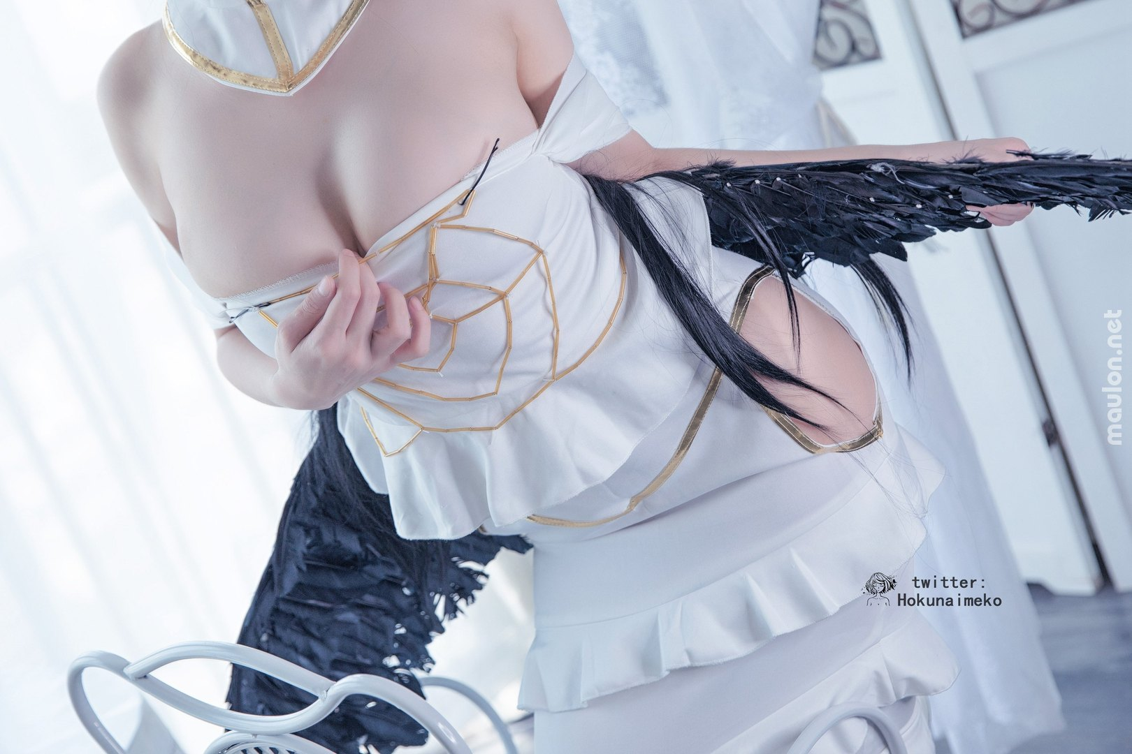 MauLon.Net - Hình ảnh sex cosplay Albedo - Overlord