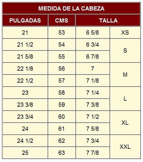 ... medida utilizada en España podrá estar entre los 54 a 61 centímetros f5da18d1012