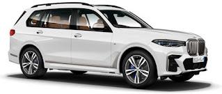 BMW X7 PRICE, BMW X7 SIDE VIEW