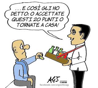 Di Maio, m5s, PD, Grillo, consultazioni, crisi di governo, alleanze, trattative, politica, vignetta, satira