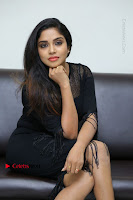 Telugu Actress Karunya Chowdary Latest Stills in Black Short Dress at Edo Prema Lokam Audio Launch .COM 0212.JPG
