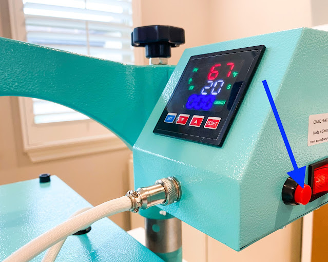 heat press, heat press basics, 8-in-1 heat press, heat press timer, heat transfer vinyl