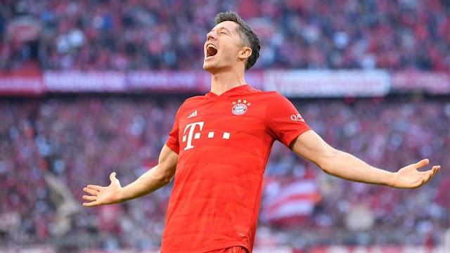 220-goals Lewy became the 3rd best goal scorer in Bundesliga history