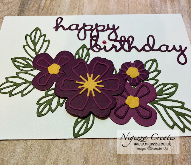 Pretty Perennials No Stamp Card