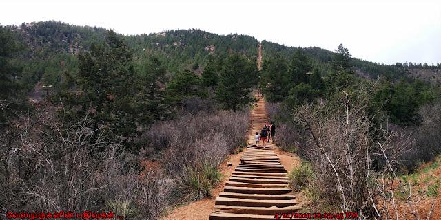 Colorado Springs Manitou Incline Hike