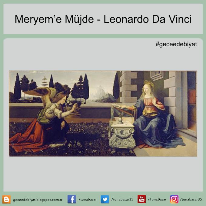 Meryem'e Müjde - Leonardo Da Vinci