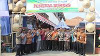 Aneka Produk Lokal Dipamerkan Pada Festival Bumdes se Kecamatan Salem