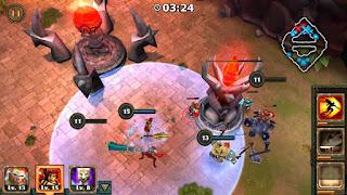 game Moba Android terbaik terpopuler - Legendary Heroes