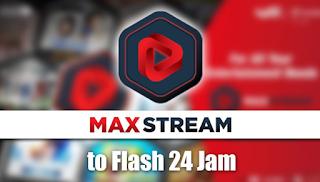 Cara Mudah Mengubah Kuota MAXstream Menjadi kuota flash
