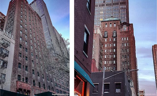 Fachada do Hotel Pod 39, Nova York