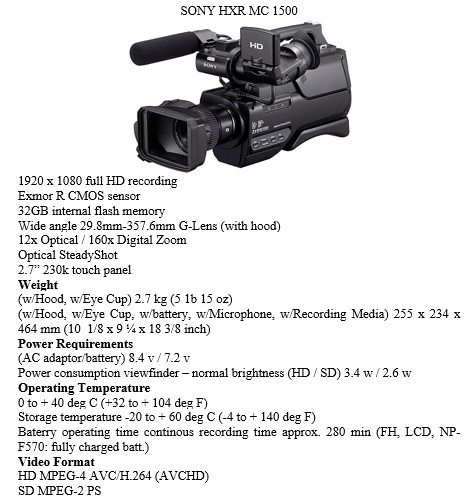 Program Dokumenter Televisi Tugas Penata Kamera