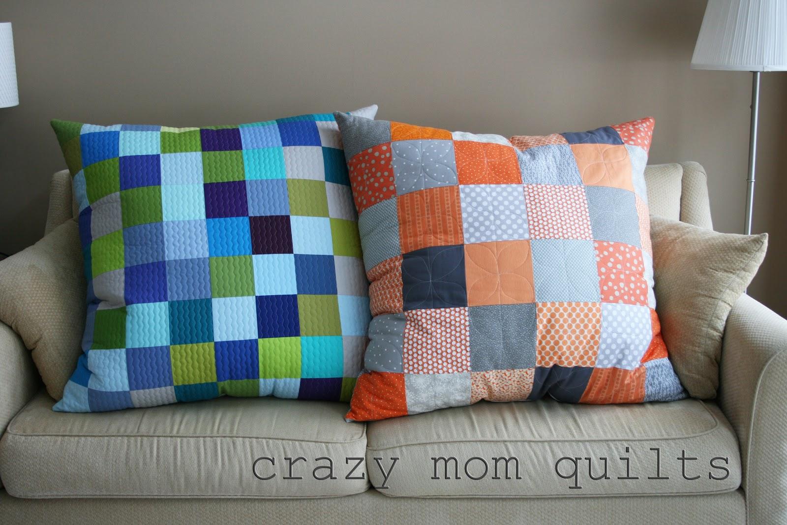 crazy mom quilts giant pillow redux. Black Bedroom Furniture Sets. Home Design Ideas