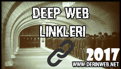 Deep Web Linkleri - Ocak 2017