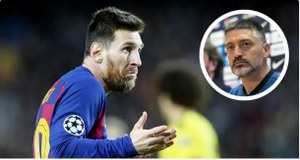 Barcelona B coach Pimienta opens up on Messi's future