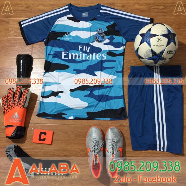 Áo CLB Real Madrid 2019 màu xanh dương