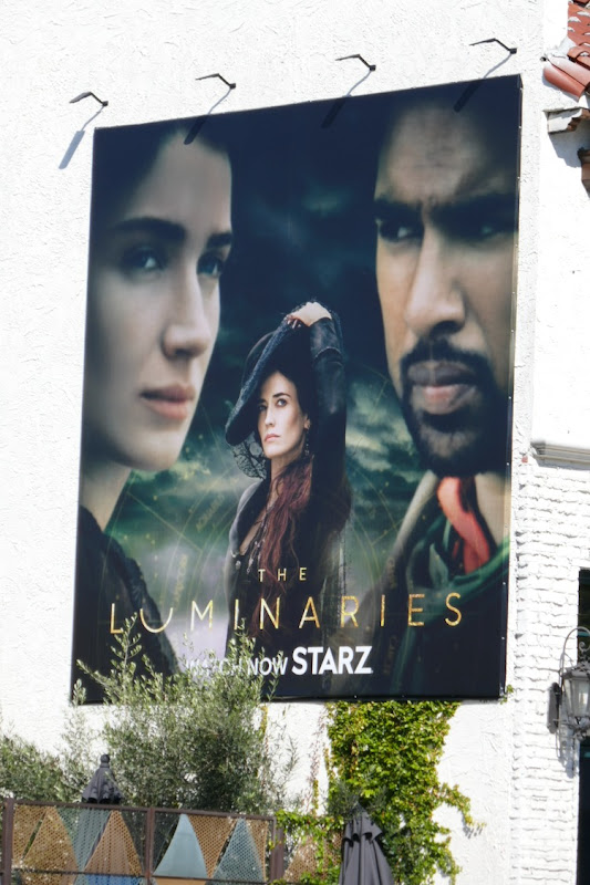 Luminaries series launch billboard