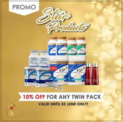 Promosi Shaklee STAR products Jun 2019