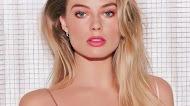 Margot Robbie In Pink Dress mobile wallpaper