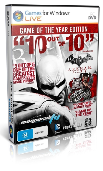 Batman Arkham City Game Of The Year Edition PC Español