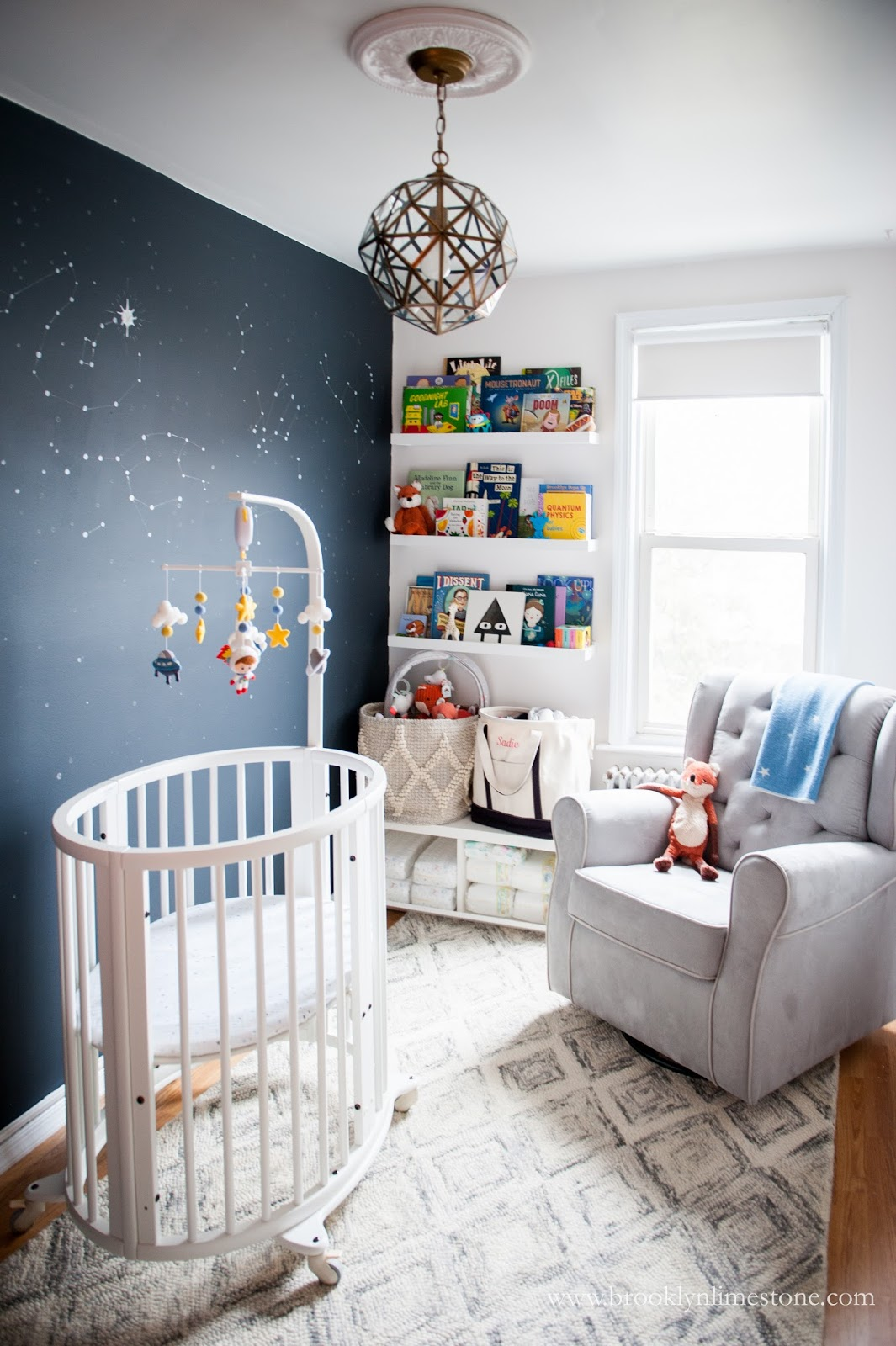 Girl Astronaut Nursery