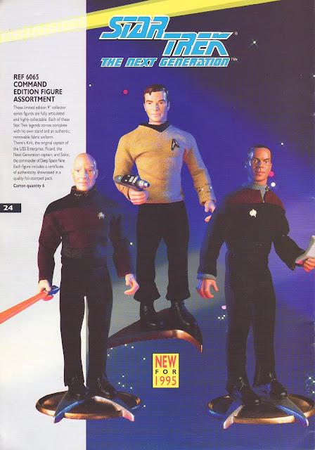 Star Trek Playmates Bandai Catalogue