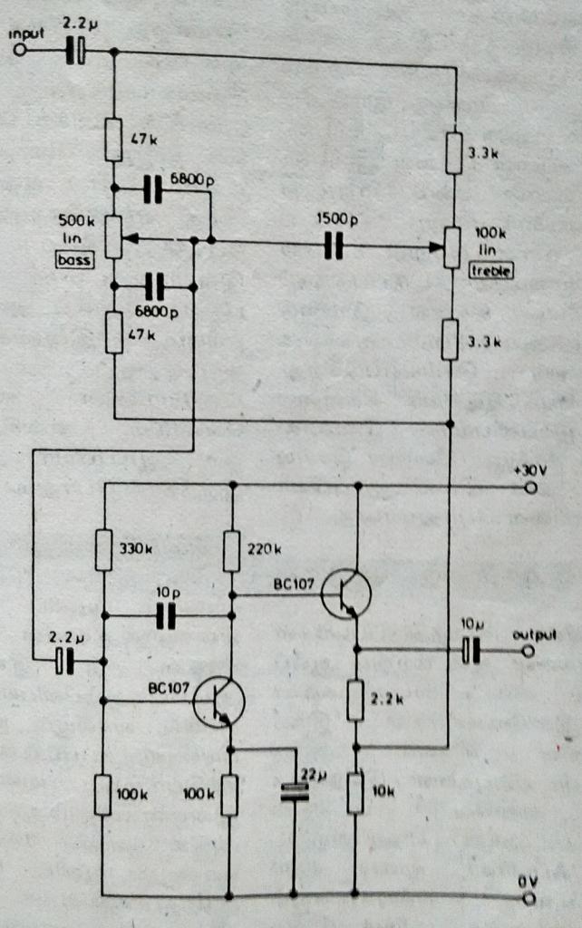 tda2822 mono amplifier circuit diagram