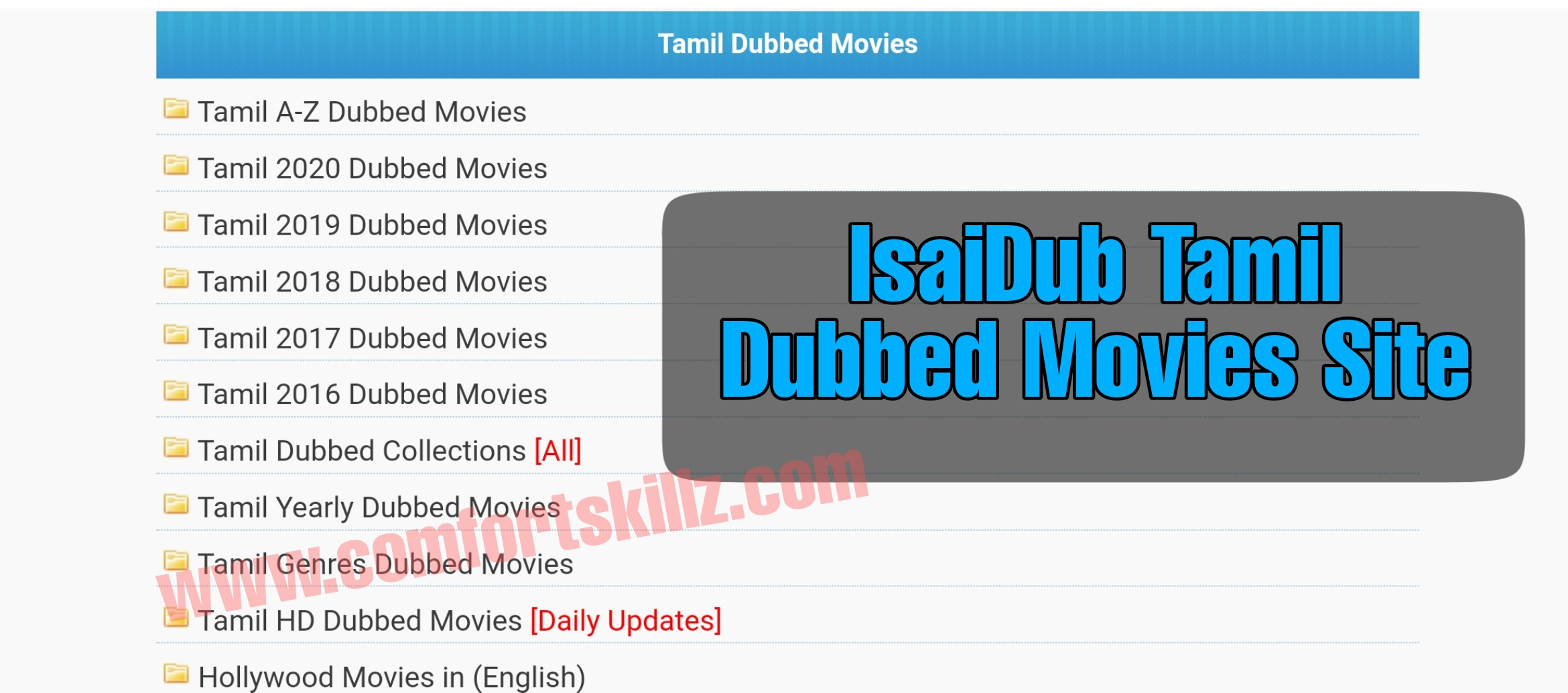 Isaidub movies download
