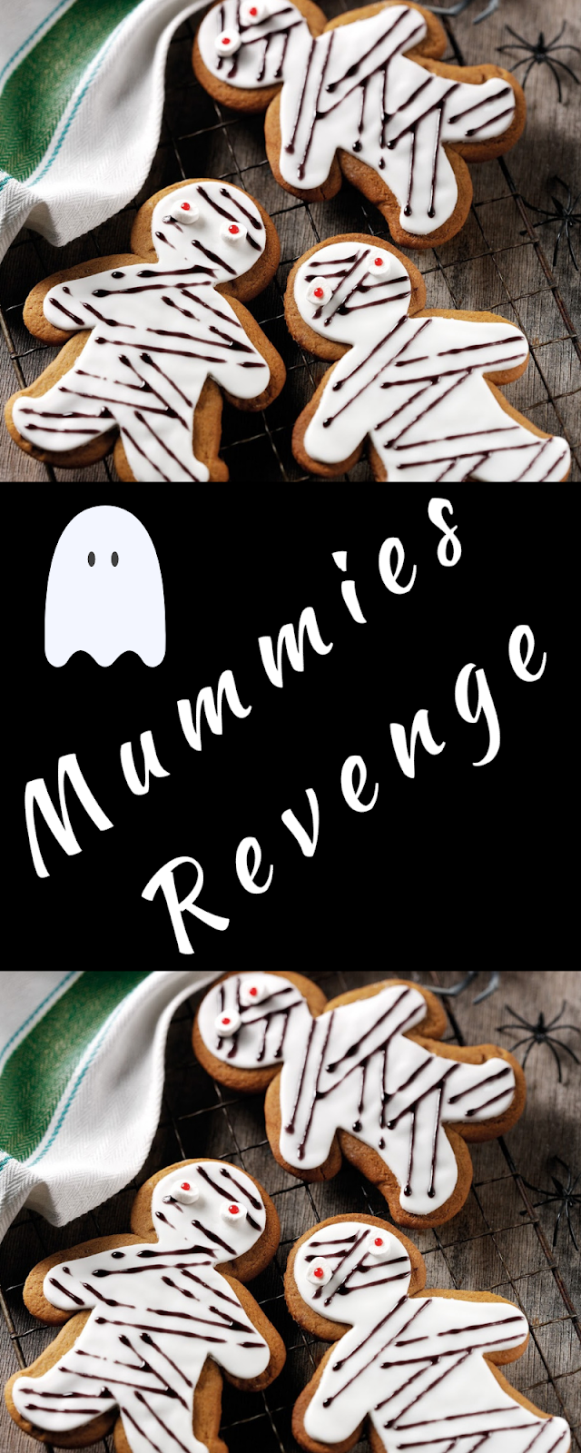 Mummies Revenge: Halloween Gingerbread Mummies