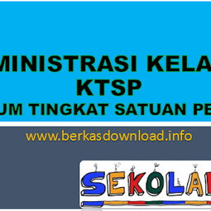 Administrasi Kelas VI KTSP Lengkap