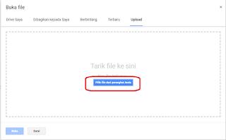 cara upload file pdf ke blog