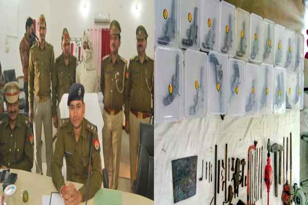 etah-police-up-caught-illegal-weapons-factory-1-arrested