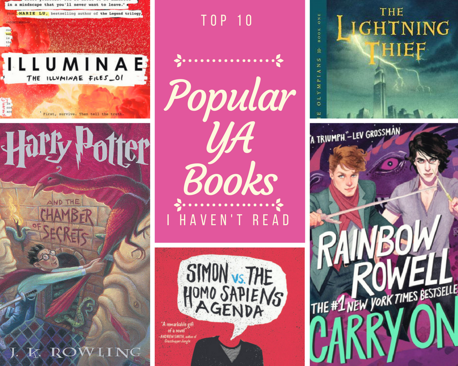 10 Popular Ya Books That I Ve Failed To Read Bibliomess