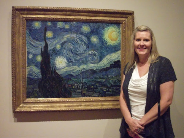 "Terri ""sees"" World Museum Of Modern Art Starry Night"