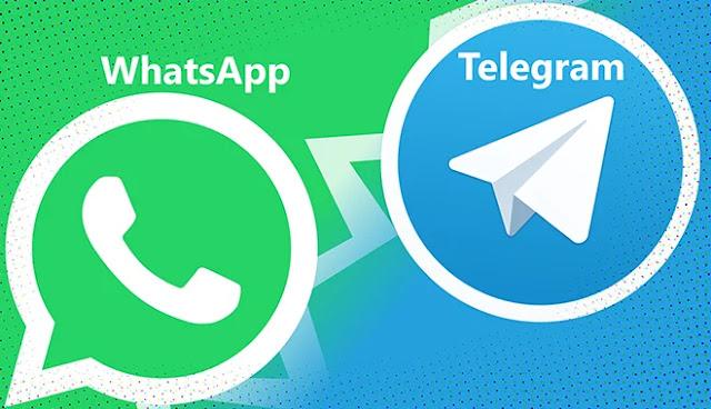 Fonctionnalités que l'application Telegram excelle sur WhatsApp.