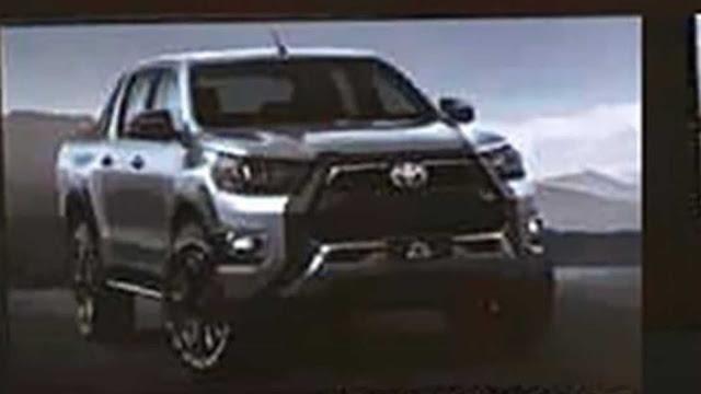 Nova Toyota Hilux 2021 GR Sport com facelift: fotos