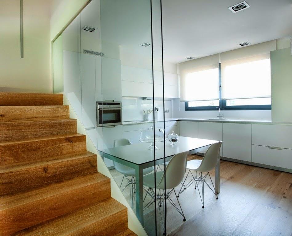 La cocina semiabierta una ventajosa elecci n cocinas for Disenos cocinas abiertas